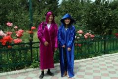 Muslimische Bedeckung auf kirgisisch :-)