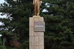 Lenin Statue in Karakol