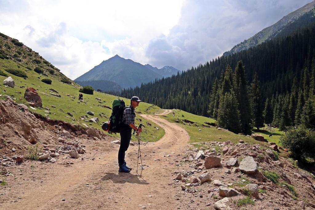 Wanderung zum Teleti-Pass in Kirgistan