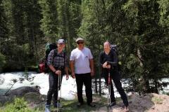 Start unserer Wanderung im Jeti-Öguz-Tal
