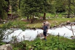 1. Pause auf 2.600 Metern - Zeit zum Wasser filtern