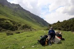 3. Pause auf 2.900 Metern Höhe