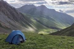Traumhafte Lage fürs Zelten