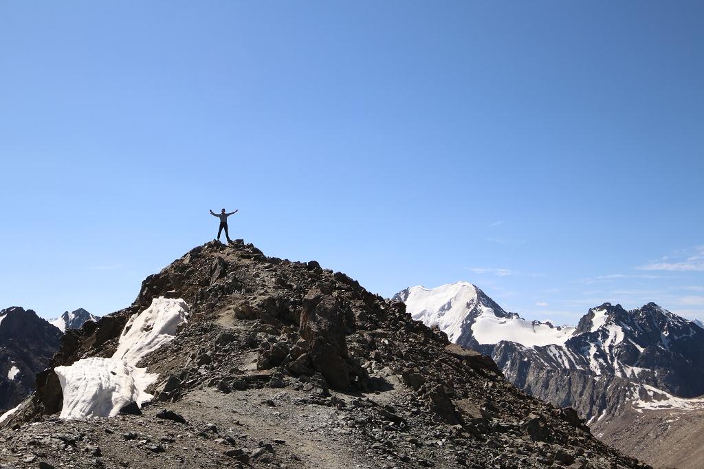 Der höchste Punkt auf 3.906 Metern ist erreicht