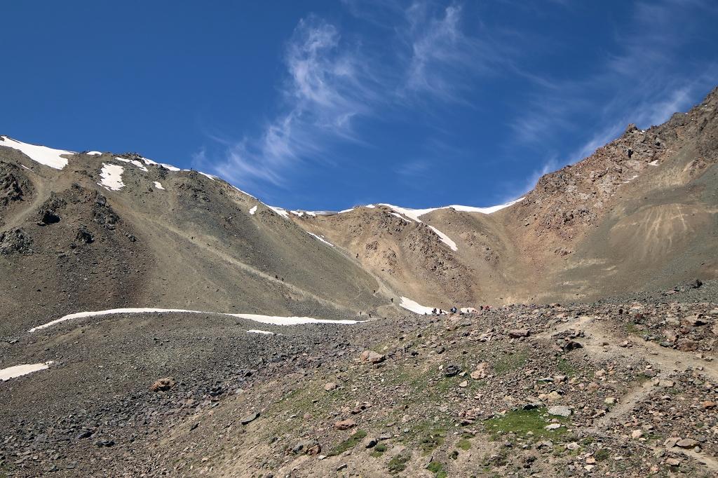 Blick auf den Ala-Kol-Pass