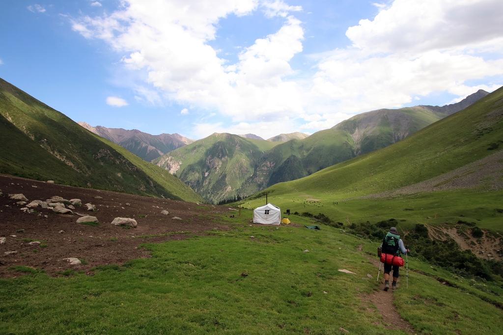 Im Altyn-Araschan-Tal