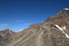 Abstieg über den Ala-Kol-Pass