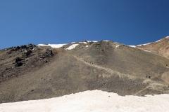 Abstiegsroute vom Ala-Kol ins Altyn-Araschan-Tal