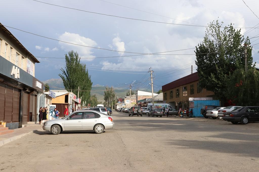 Durch die Straßen Karakols