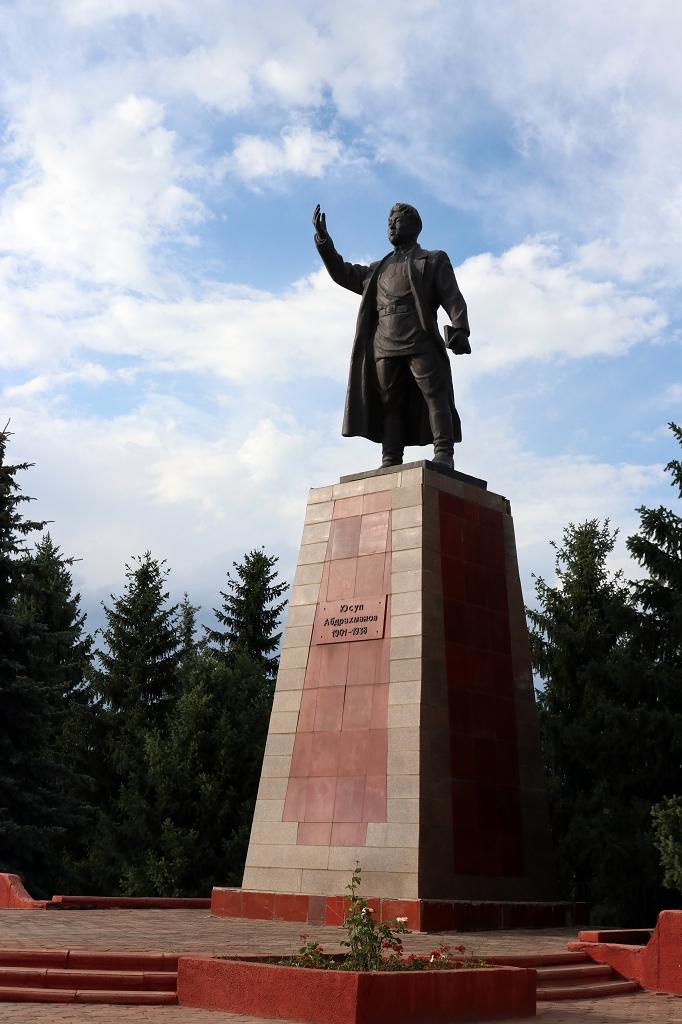 Monument in Karakol