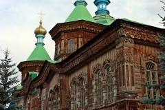 Kathedrale der Heiligen Dreieinigkeit in Karakol