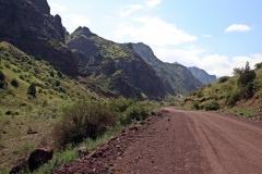 Durch das Kara-Keche-Tal nach Kyzyl-Oi