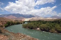 Fahrt durch das Kökömeren-Tal nach Kyzyl-Oi