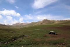 Bergwelt am Song-Kul