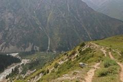Am Tesphi Plateau Richtung Broken Heart