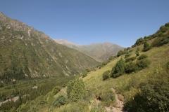 Blick in das Ala-Archa-Tal