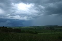 Gewitter über Eisenach