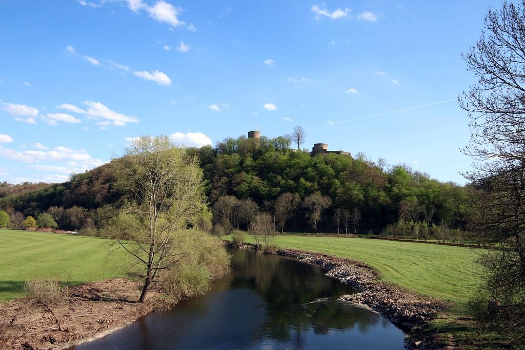 Natursteig Sieg Etappe 2 - Von Hennef nach Blankenberg - Burg Blankenberg