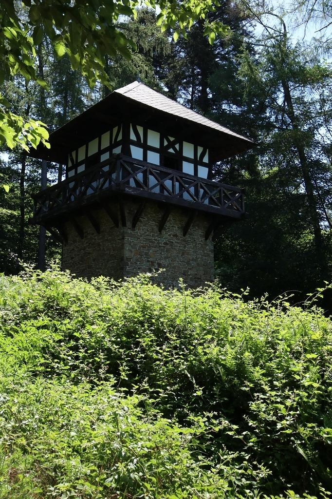 Rheinsteig Etappe 9: Von Sayn nach Vallendar - ehemaliger römischer Wachturm