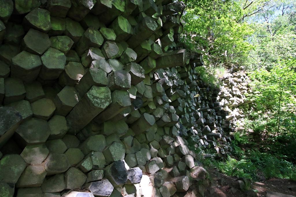 Basaltprismen am Gangolfsberg