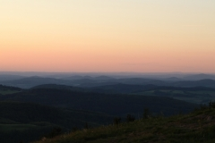 Sonnenuntergang auf der Wasserkuppe