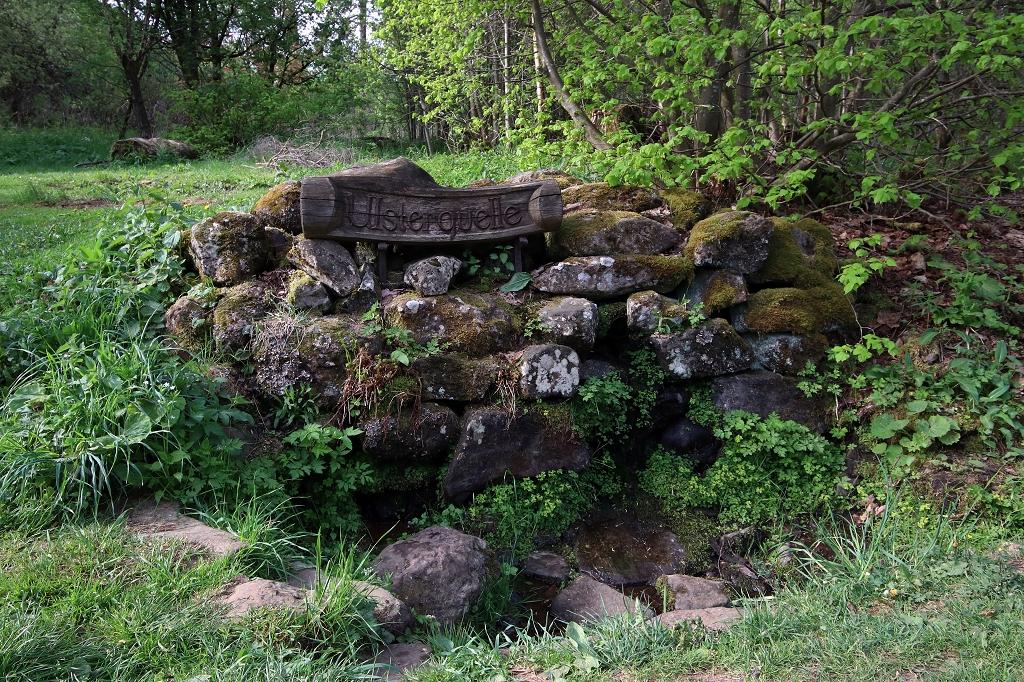 Ulsterquelle auf der Extratour Rotes Moor in der Rhön