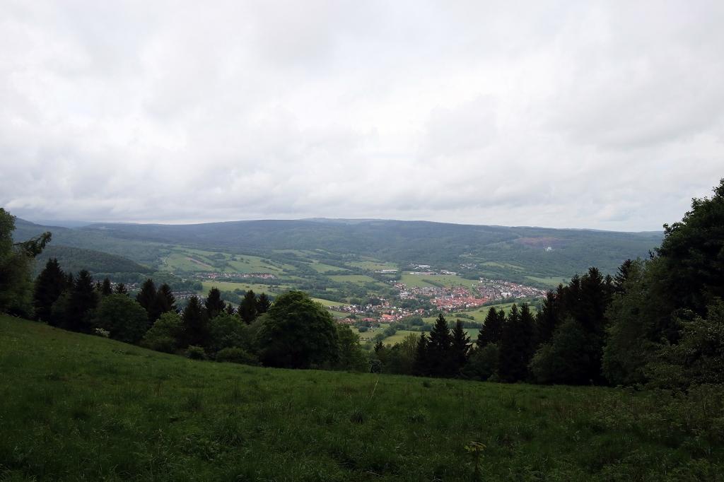 Extratour Kreuzbergtour - Blick auf Bischofsheim
