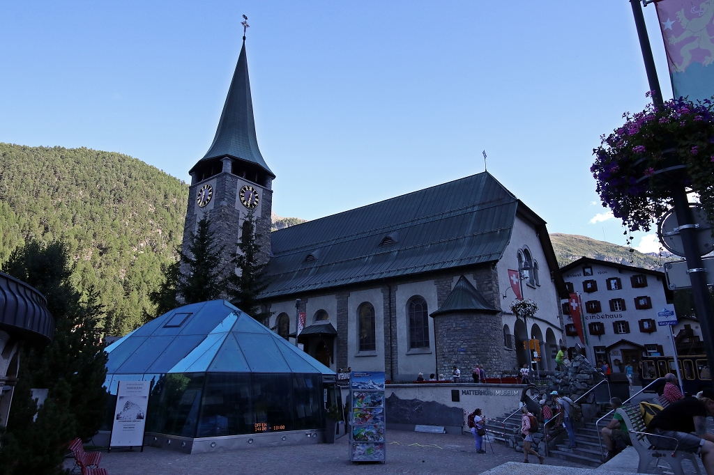 Pfarrkirche St. Mauritius in Zermatt