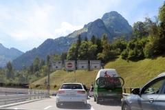 Autotunnel in Kandersteg