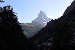 Das weltbekannte Matterhorn