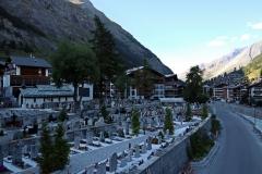 Friedhof in Zermatt
