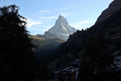 Das Matterhorn; immer im Blick