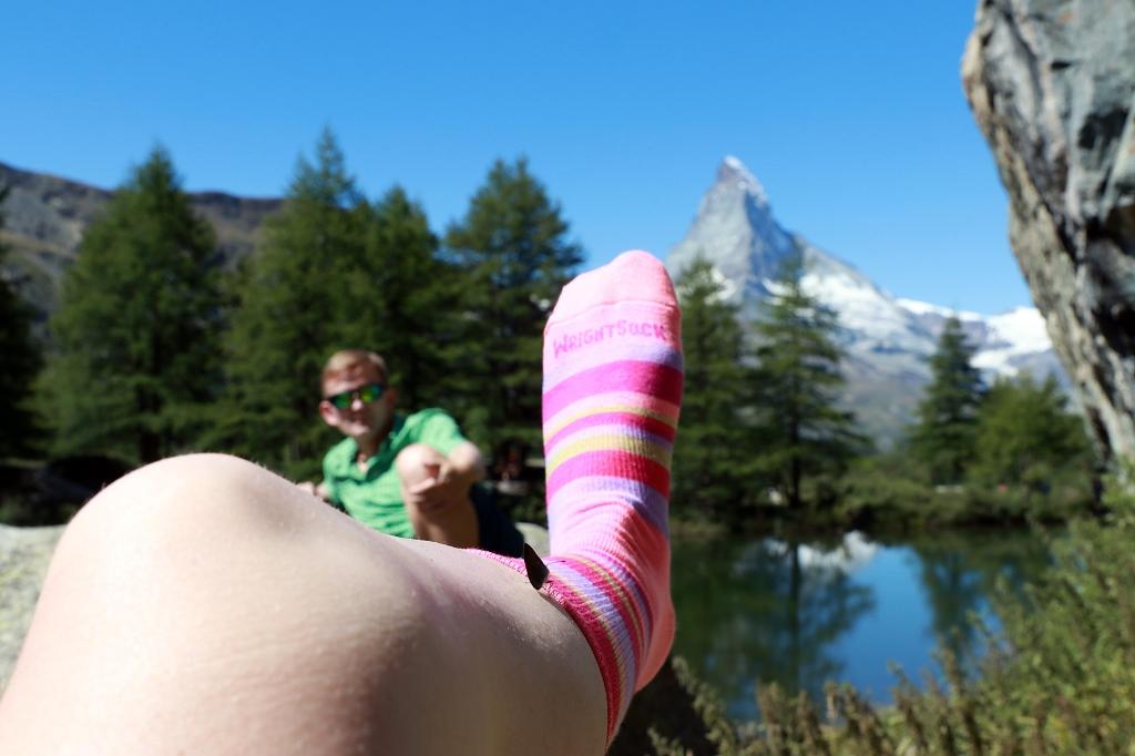 Matterhorn, Marcel und WrightSocks