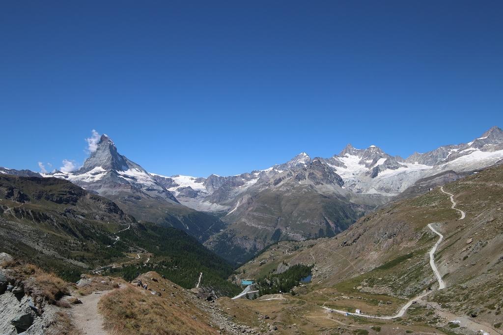 Fünf-Seen-Runde in Zermatt und Matterhornweitblick