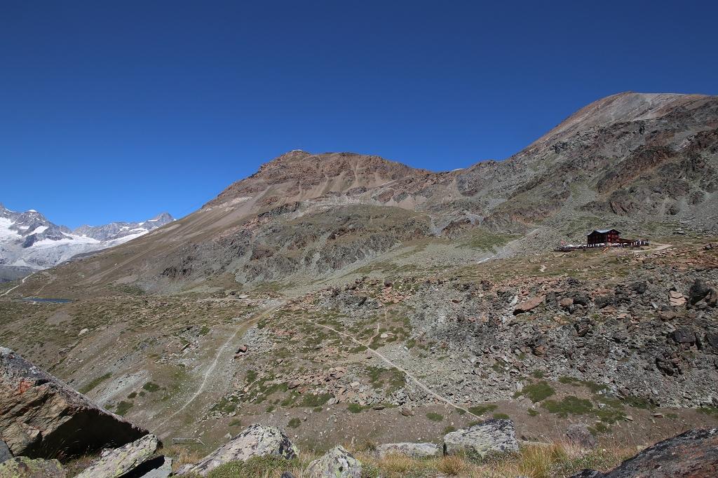 Fluealp auf der Fünf-Seen-Runde in Zermatt