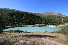 Mossjesee auf der Fünf-Seen-Runde in Zermatt