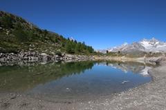 Grünsee auf der Fünf-Seen-Runde in Zermatt