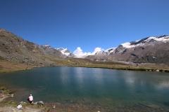 Stellisee auf der Fünf-Seen-Runde in Zermatt
