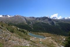 Leisee auf der Fünf-Seen-Runde in Zermatt