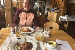 Abendessen im 3100 Kulmhotel Gornergrat