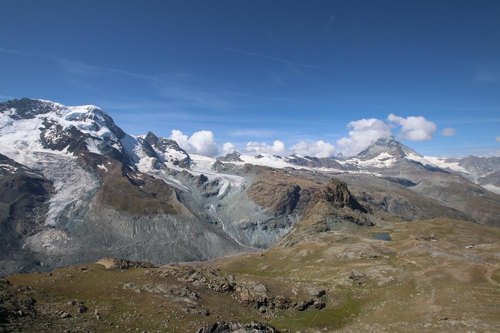 Abstieg vom Gornergrat zum Riffelsee