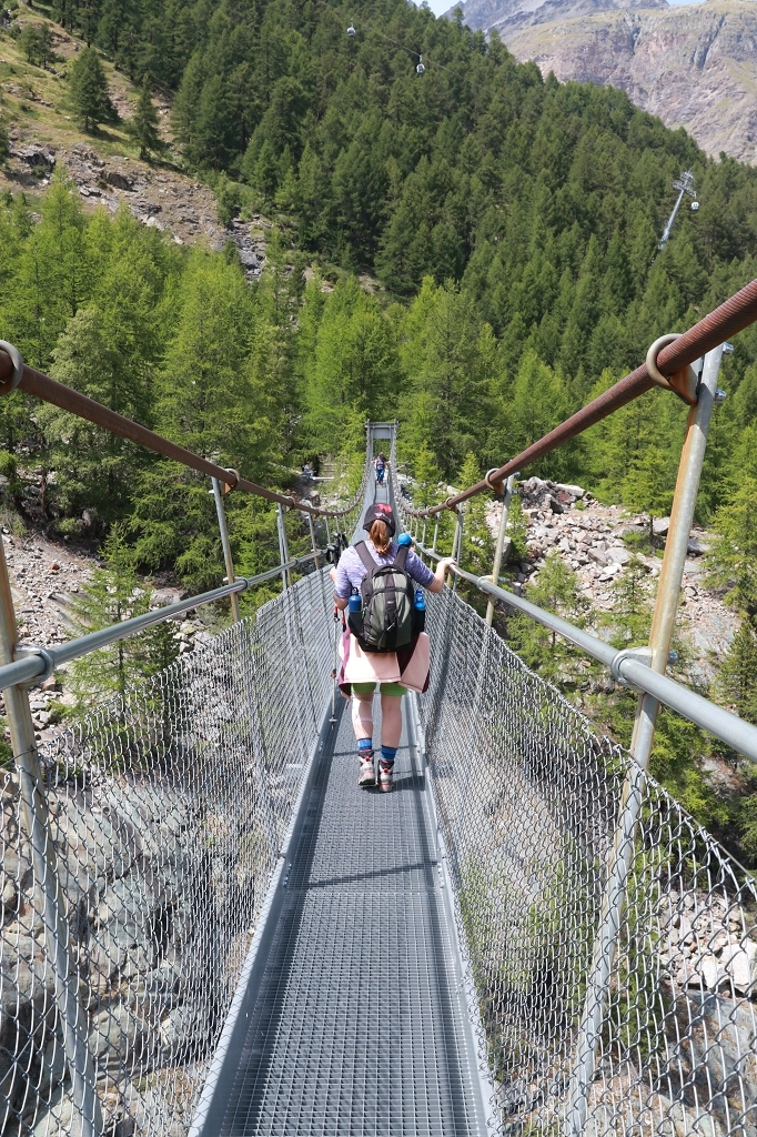Hängebrücke Furi