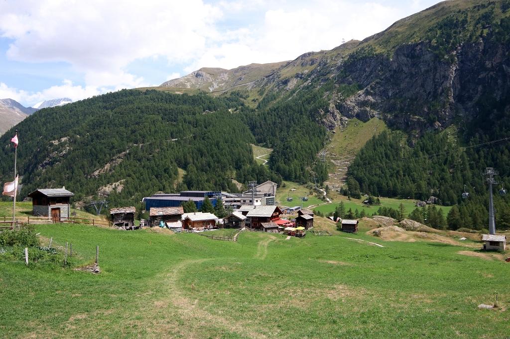 Seilbahnstation in Furi