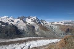 Breithorn und die Gletscherlandschaft