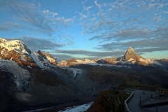 Sonnenaufgang am Gornergrat