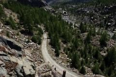 Abstieg vom Gornergrat nach Furi
