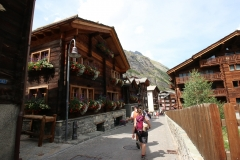 Angekommen in Zermatt
