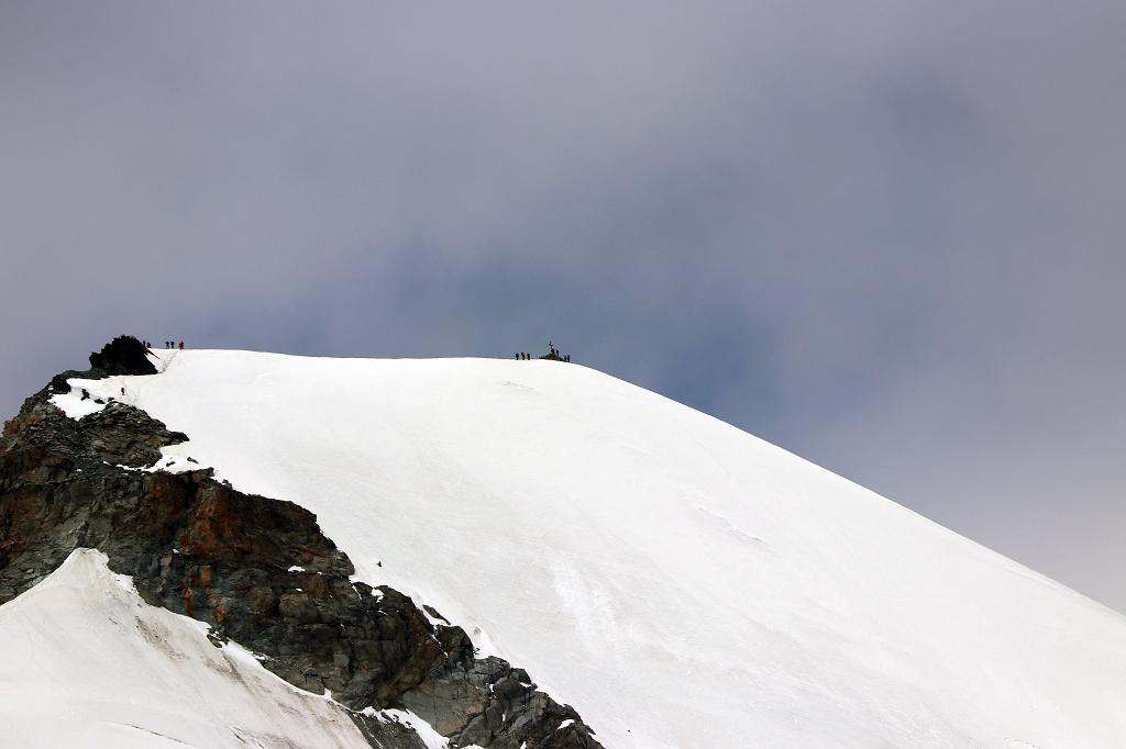 Gipfel des Allalinhorn