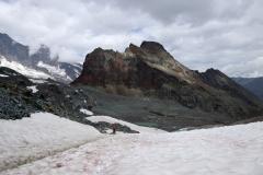 Rückweg Klein Allalin - Britanniahütte - Egginerjoch - Felskinn