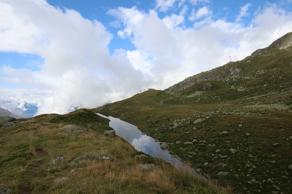 Wanderung von der Fiescheralp zum Aletschwald - Schonbodensee